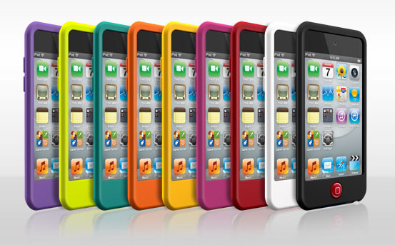 SwitchEasy Colors for iPod Touch 4G is a collection of silicone cases with 9