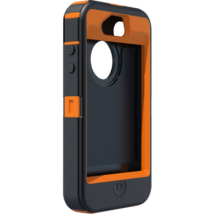 Orange Camo Iphone S Case