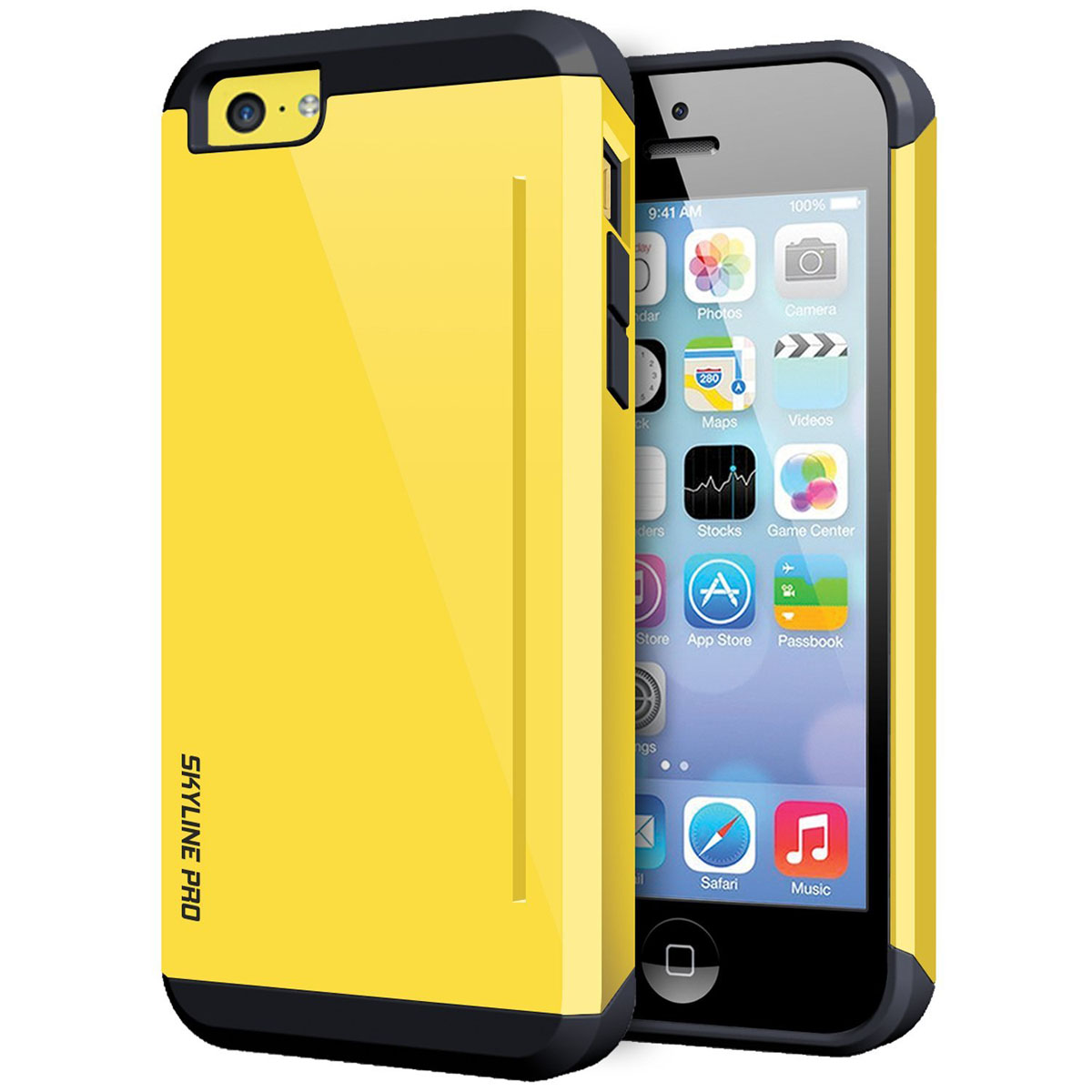iPhone 5C Case Yellow