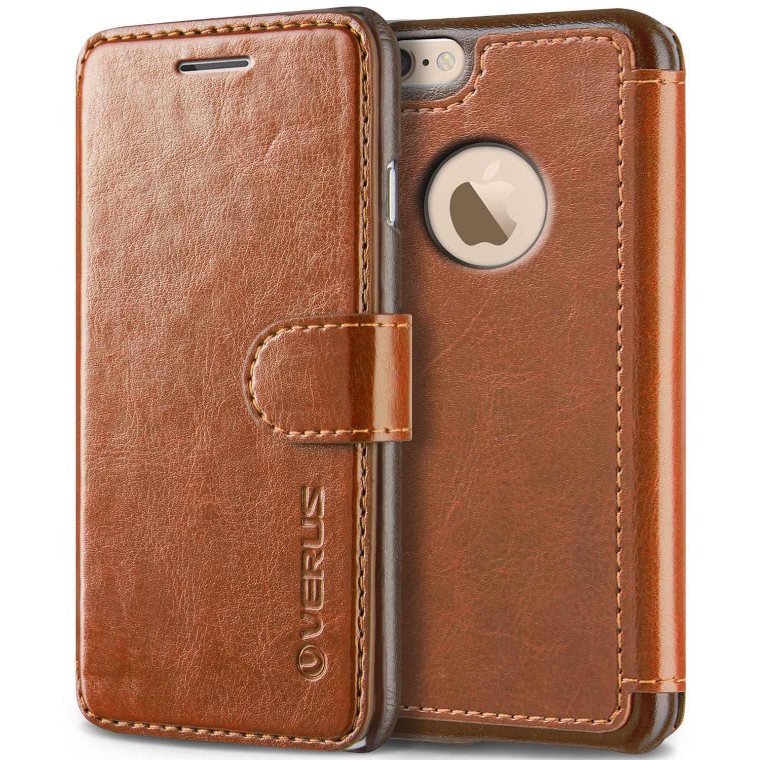 Brown Leather iPhone 6 Case