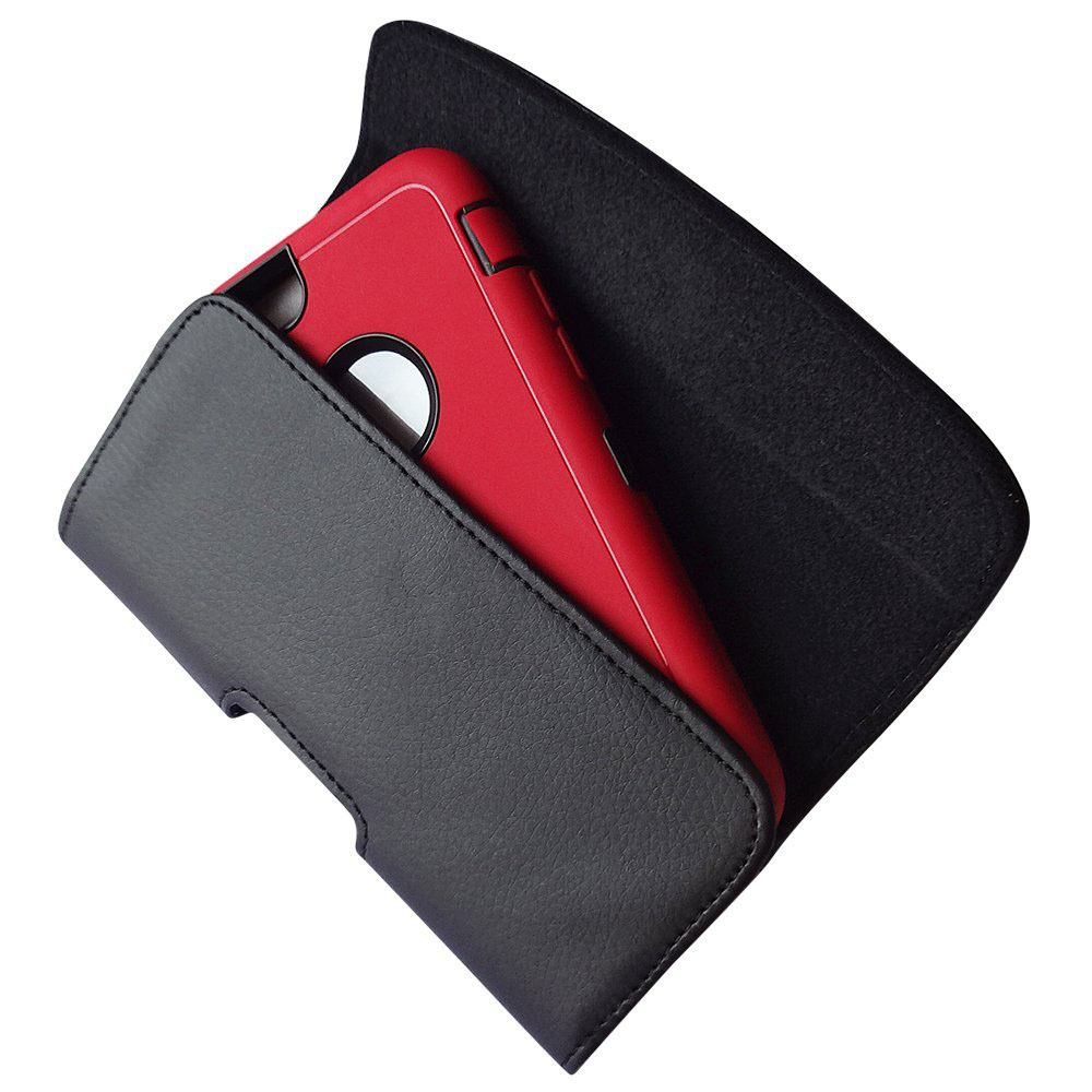 iPhone 6 Plus Black Pouch