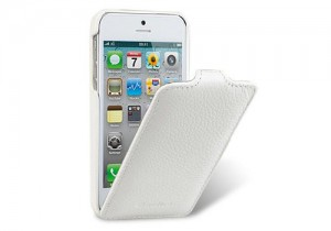 White Leather iPhone 5 Case