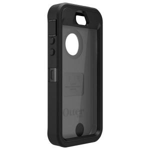 Black iPhone 5S Rubber Case