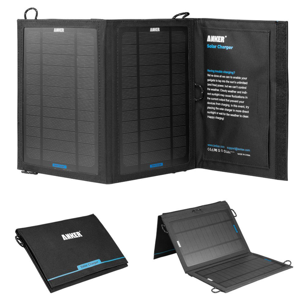 Solar Panel Charger for iPad