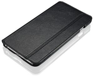 Black Leather iPhone 6 Plus Case