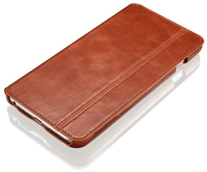 Brown Leather iPhone 6 Plus Case