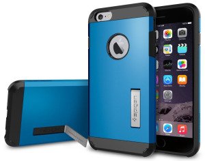 Blue iPhone 6 Plus Case with Kickstand