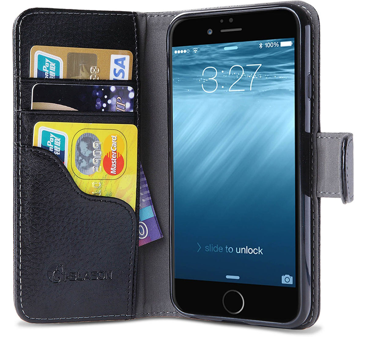 iPhone 6 Plus Wallet Case with Kickstand