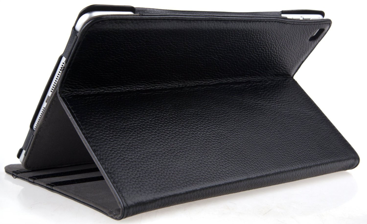 Black Leather iPad Case