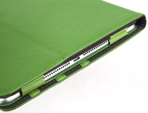 Green Leather iPad Air Case