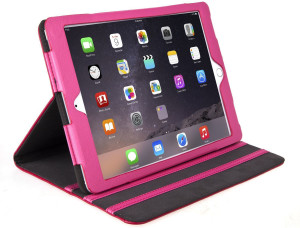 Hot Pink Leather iPad Air Case