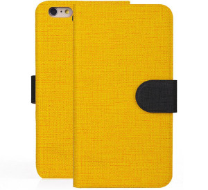 Yellow iPhone 6 Case with Card Slots