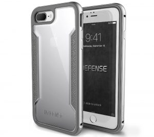 Silver iPhone 7 Plus Case