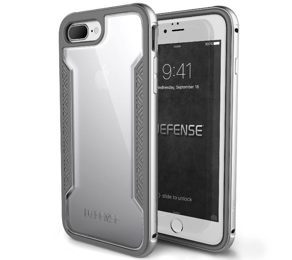 Silver iPhone 7 Plus Case